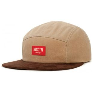 Cap Hoover 5 Panel Tan Brown