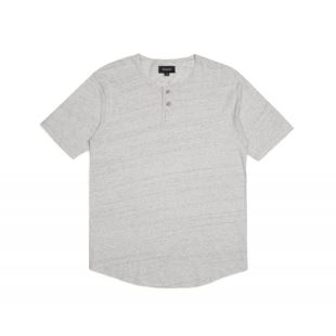 T Shirt Berkeley SS Henley Heather Stone