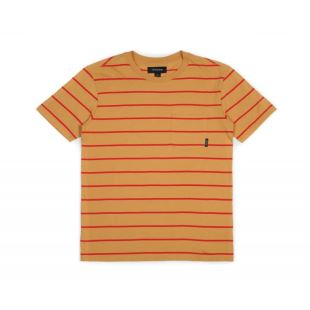 T Shirt Hilt SS Pocket Knit Gold