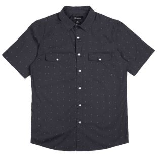 Chemise Wayne SS Washed Black