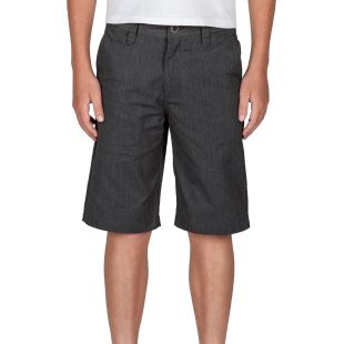 Frickin Chino Short Charcoal Heather