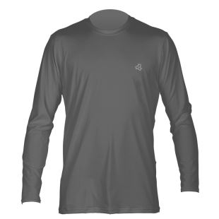 Men L/S UV SHIRT Charcoal