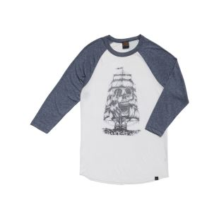 Windless Donna White Heather Navy