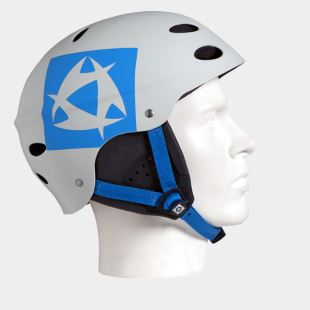 Crown Helmet With Earpads light grey