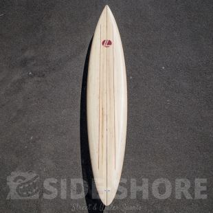 "Gun - 9'10"" - Full Balsa - Quad Futures"