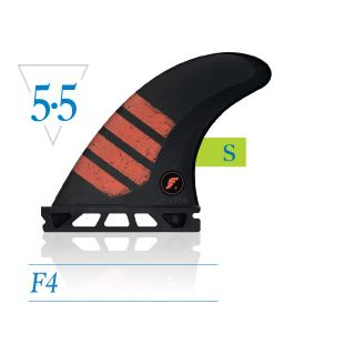 F4 Alpha Series Morpheus Carbon Red - S