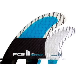 FCS II Performer PC Carbon Medium Quad Fin Set