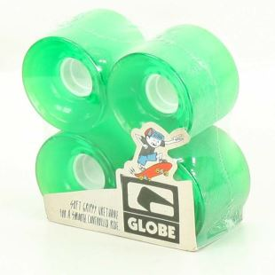 Bantam Wheel Clear Kelly Green 62mm