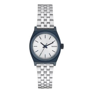 Small Time Teller Navy Silver