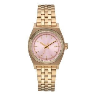 Small Time Teller Light Gold Pink