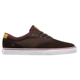 Provost Slim Vulc Brown White