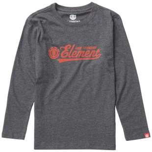 Signature LS Boy Charcoal Heather