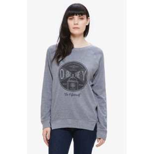 Obey Under Pressure Heather Grey