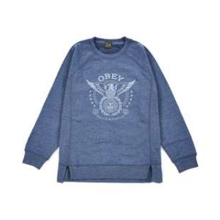 Peace & Justice Eagle Heather Navy