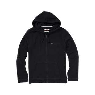 Shore Full Zip Hoodie Black