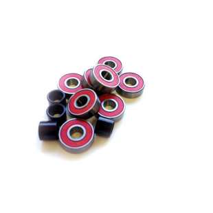 Bearings Abec 7 Red Oiled