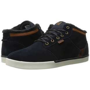 Jefferson Mid Navy Brown White