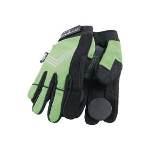 Curly Gloves Green