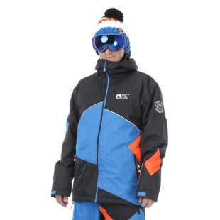 Styler Jkt Black Blue Orange