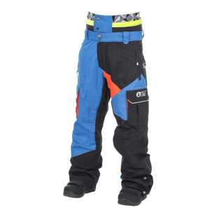 Styler Pant Blue Black Orange