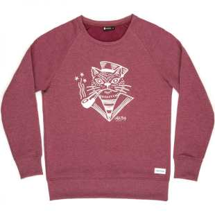 Sweat Cat Bordeaux