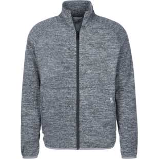 Manson Fleece Jacket Dark Grey Heather