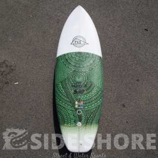 Mini Magnificus STR 5'10 x 21 1/2 x 2 1/2 36 L FUTURE Combo Set - Verte