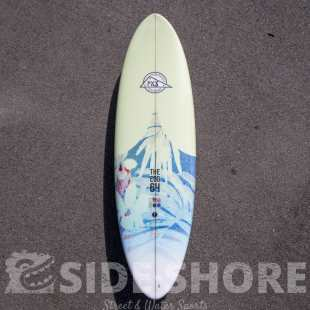 "The Egg 6'4"" x 21"" x 2""3/8 x 38.65 L FUTURE Thruster Set #753 #999 #1033"