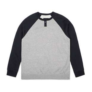 Edgar Crew Heather Grey