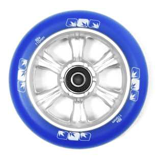 Wheel 6 Spokes 110mm Blue