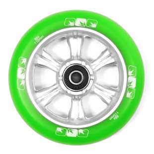 Wheel 6 Spokes 110mm Green