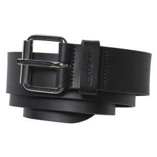 Script Belt Cow Leather Blk Blk
