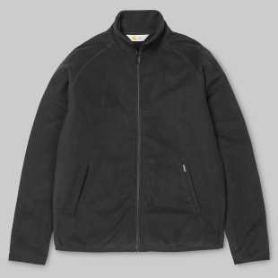 Manson Fleece Jacket Black