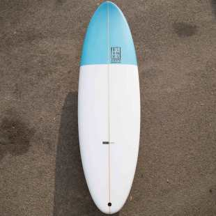 "The Big one 6'8"" x 21'1/2"" x 2'3/4"" 45L Thruster FCS Fusion"