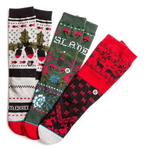 Stance Blue Holiday Pack Multi