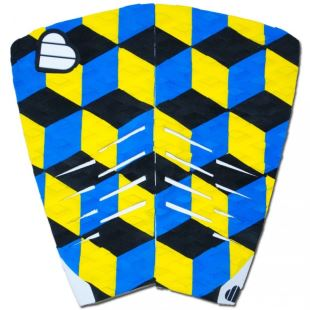 Grip Twinnie 2 pieces Bleu / Jaune