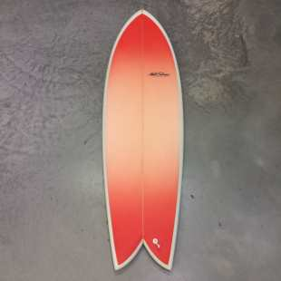 "Retro Fish - 6'0 x 21"" 1/2 x 3"" Twin Fin Futures"