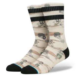 Stance Blue Hickman Off White