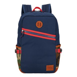 Scout Backpack Navy Woodland Camo