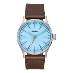 Sentry 38 Leather Sky Blue Taupe