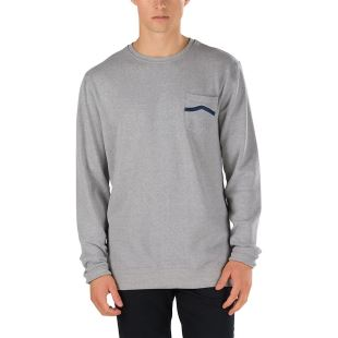 Side Stripe Pocket Concrete Heather