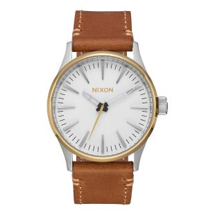 Sentry 38 Leather Gold Cream Tan