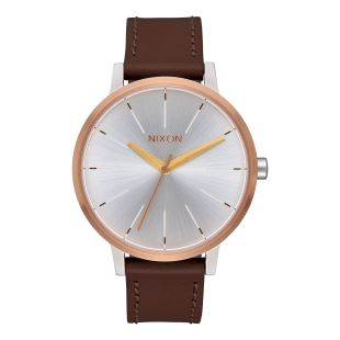Kensington Leather Silver Gold Rose Gold