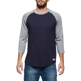 Basic Raglan 3/4 Eclipse Navy