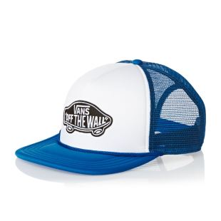 Classic Patch Trucker Wht Imperial