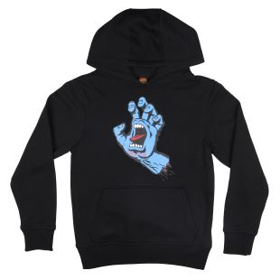 Youth Hoody youth Screaming Hand Black