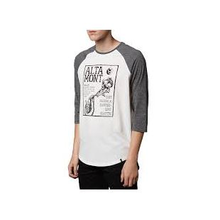 Flyer Raglan White
