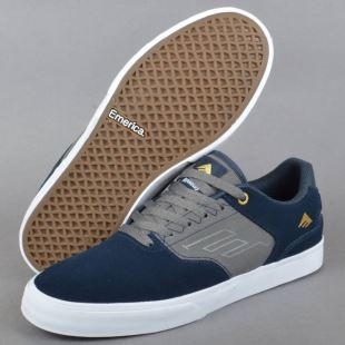 The Reynolds Low Vulc Navy Grey