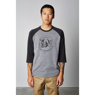 Tempus 3/4 Heather Grey Washed Black +