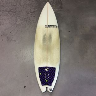 "Toy - 6'2 x 19"" 5/8 x 2"" 7/16  - 31.7 L - Thruster - FCS Fusion"